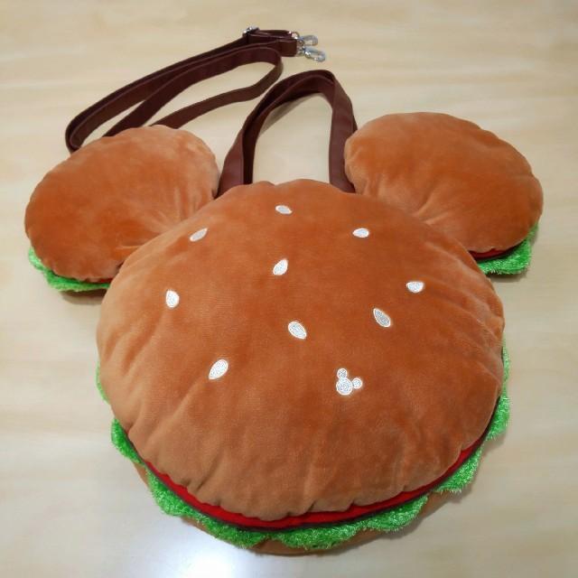 Disney(ディズニー)の【最終値下げ】新品・未使用♡ミッキーハンバーガー♡3wayバッグ エンタメ/ホビーのおもちゃ/ぬいぐるみ(キャラクターグッズ)の商品写真