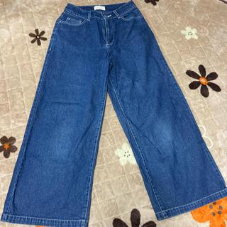 レピピアルマリオ(repipi armario)のレピピのワイドジーンズ サイズS(パンツ/スパッツ)