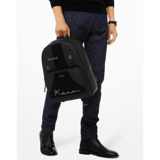 マイケルコース(Michael Kors)のMICHAEL KORS ブライアントスクリプト 本革リュック ブラック メンズ(バッグパック/リュック)