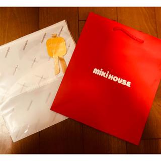 ミキハウス(mikihouse)の新品 ミキハウス ラッピングセット(ショップ袋)