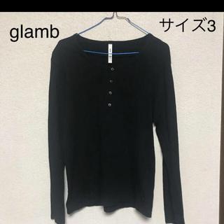 グラム(glamb)のglamb 長袖ロングTシャツ カットソー  サイズ3(Tシャツ/カットソー(七分/長袖))