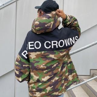 ロデオクラウンズワイドボウル(RODEO CROWNS WIDE BOWL)の新品 迷彩(男女兼用)早い者勝ちノーコメント即決しましょう❗️コメントやめよう❌(ナイロンジャケット)