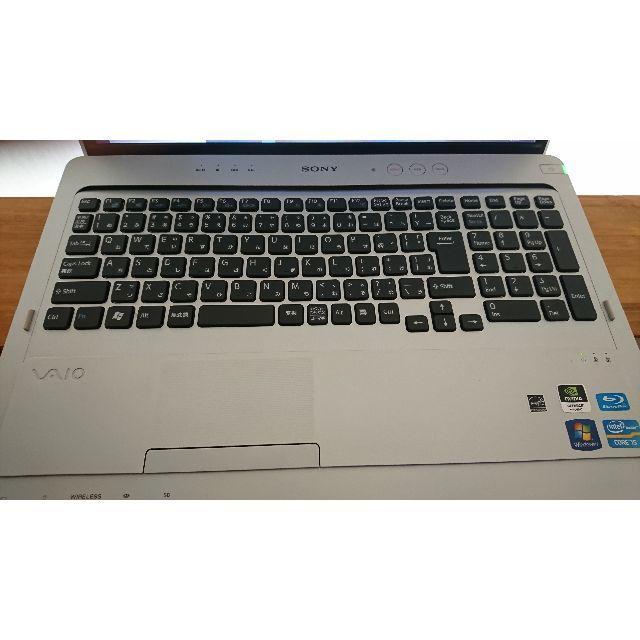 SONY(ソニー)のVAIO i7-2670QM 12GB SSD500GB PCG-81411N スマホ/家電/カメラのPC/タブレット(ノートPC)の商品写真