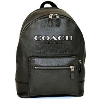 コーチ(COACH)のブラック☆COACH☆WEST BACKPACK カットアウト・ロゴ(バッグパック/リュック)