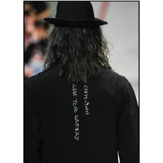Yohji Yamamoto - 【9/25までの出品】ヨウジヤマモト タキシードベスト 20ss