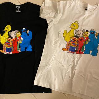 ユニクロ(UNIQLO)のカウズ ユニクロコラボ(Tシャツ/カットソー(半袖/袖なし))