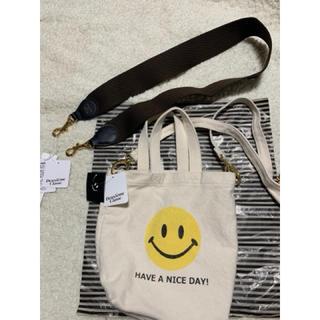 DEUXIEME CLASSE - ドゥーズィエムクラス新品SMILEY FACE スマイルバッグとストラップ!