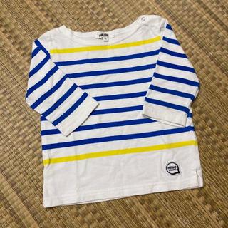 ビームス(BEAMS)のビームス マルチボーダーTシャツ 90サイズ(Tシャツ/カットソー)