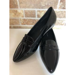 ローファー エナメル ブラック(ローファー/革靴)