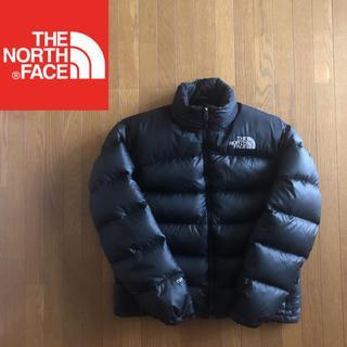 ザノースフェイス(THE NORTH FACE)の美品♫ ノースフェイス ダウンジャケット 700フィルパワー 黒 メンズM(ダウンジャケット)