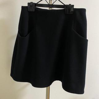 エストネーション(ESTNATION)のESTNATION♡黒ひざ丈スカート(ひざ丈スカート)