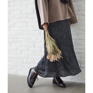 ミスティウーマン(mysty woman)の♡ mysty woman リーフ柄マーメイドスカート ♡(ロングスカート)