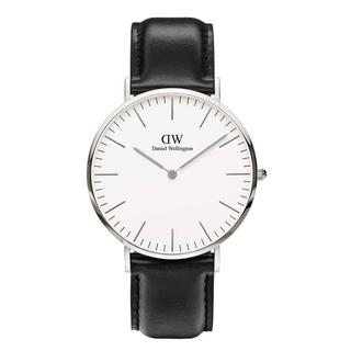 ダニエルウェリントン(Daniel Wellington)の【40㎜】ダニエルウェリントン腕時計〈DW00100020〉3年保証付(腕時計(アナログ))