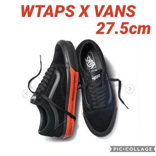 W)taps - 新品未使用 WTAPS × VANS OG OLD SKOOL LX BLACK