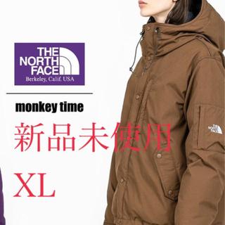 ザノースフェイス(THE NORTH FACE)の新品未使用 ノースフェイス マウンテンショートダウンパーカ monkeytime(ダウンジャケット)
