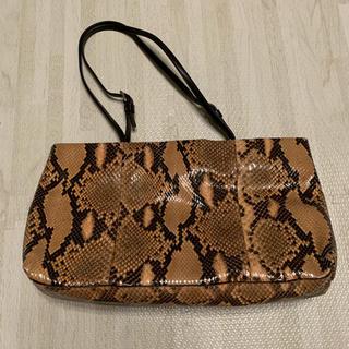 プラダ(PRADA)のPRADAヘビ革バッグ袋カードあり(ハンドバッグ)