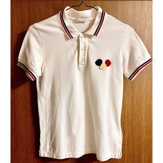 MONCLER - モンクレール MONCLER ポロシャツ ホワイト 12A トリコロール