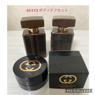 グッチ(Gucci)のGUCCI ボディローション+スフレクリーム(ボディクリーム)