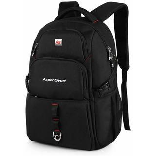 リュックサック pcバックパック USB充電ポート ビジネスバッグ 黒 大容量(バッグパック/リュック)