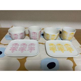 マリメッコ(marimekko)のVIHKIRUUSU ヴィヒキルース 食器セット / USED(食器)