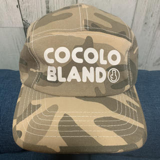 ココロブランド(COCOLOBLAND)のCOCOLOBLAND 迷彩キャップ(キャップ)