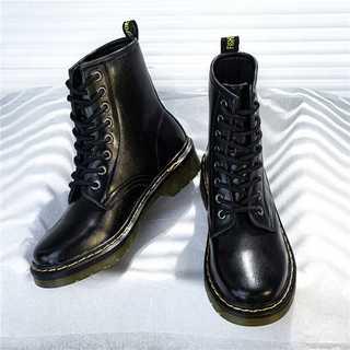 マーティンブーツ本革レディース秋冬歩きやすいブーツ厚底MB-M708(ブーツ)