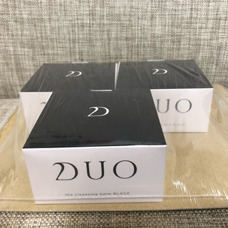 THREE - DUO クレンジングバーム ブラック 3個セット