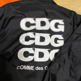 コムデギャルソン(COMME des GARCONS)のCDG コーチジャケット Lサイズ(ナイロンジャケット)