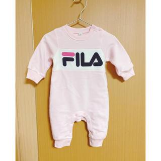 フィラ(FILA)の♡FILA 裏起毛 ロンパース★新品‼️70cm(ロンパース)