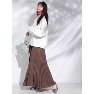 GRL - ロングプリーツスカート ブラウン 新品 L