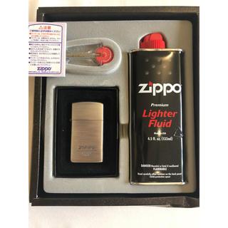 ジッポー(ZIPPO)のZIPPO スリム ライター 未使用 (タバコグッズ)