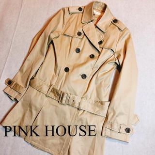 ピンクハウス(PINK HOUSE)のPINK HOUSE ピンクハウス トレンチコート ベージュ(トレンチコート)