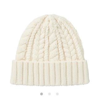 ムジルシリョウヒン(MUJI (無印良品))の無印良品 ニット帽 新品未使用(ニット帽/ビーニー)