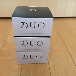 DUO クレンジングバーム ブラック90g ×3個