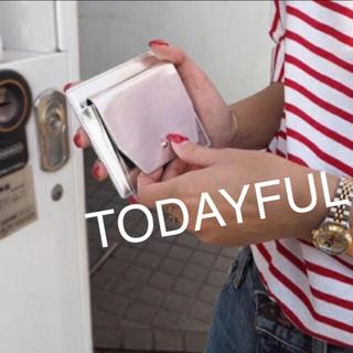 トゥデイフル(TODAYFUL)の今流行!!TODAYFUL フラグメントケース ミニウォレット カードケース (財布)