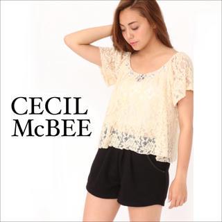 セシルマクビー(CECIL McBEE)のCECIL McBEE ツィード ショートパンツ♡ワンウェイ イング リエンダ(ショートパンツ)