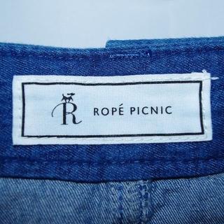 Rope' Picnic - 美品【ROPE PICNIC/ロペピクニック】ひざ丈デニムフレアスカート