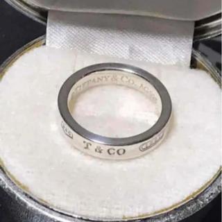 Tiffany & Co. - お値下げ!美品 Tiffany ティファニー  リング 指輪