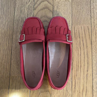 アグ(UGG)の美品 UGG ローファー(ローファー/革靴)