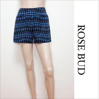 ROSE BUD - ROSE BUD 柄 ショートパンツ♡ベルシュカ ZARA ナノユニバース