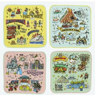 Disney - 東京ディズニーリゾート限定品 パーク ミニタオルセット ハンカチ