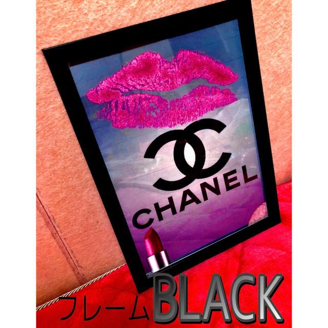 CHANEL(シャネル)の【CHANEL】インテリアポスター エンタメ/ホビーのアート用品(ポスターフレーム)の商品写真