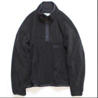 サンシー(SUNSEA)のstein 19aw  over sleeve fleece top(ブルゾン)