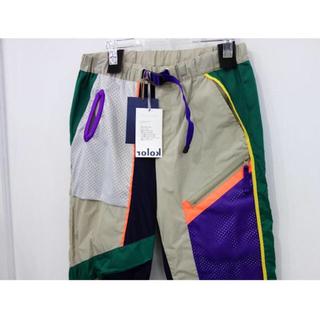 カラー(kolor)の新品 定価129600円 kolor 限定 19SS 切替 ナイロン パンツS(その他)