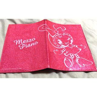 メゾピアノ(mezzo piano)のmezo piano ノートカバー ラメ入り(その他)