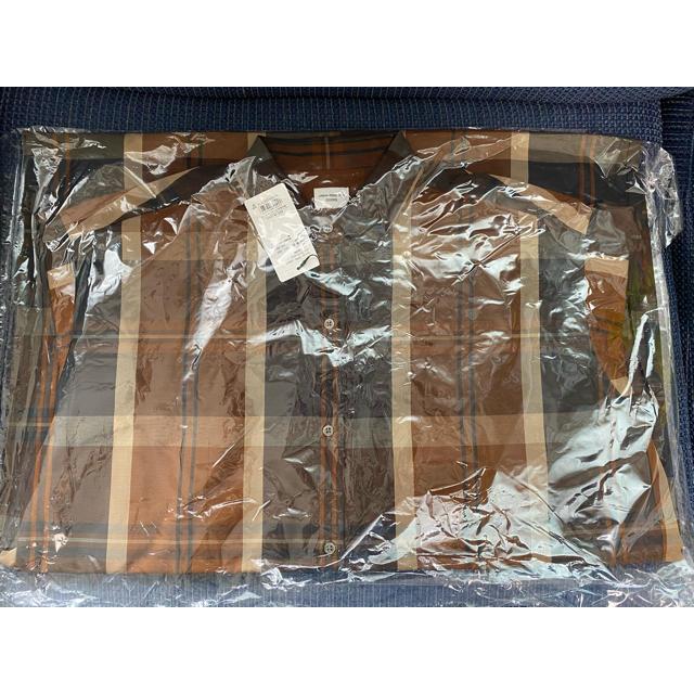 DOORS / URBAN RESEARCH(ドアーズ)の新品 アーバンリサーチ ドアーズ DOORS チェックシャツワンピース  レディースのワンピース(ロングワンピース/マキシワンピース)の商品写真