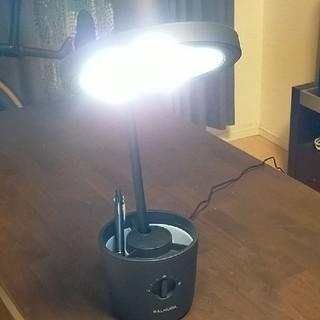 バルミューダ(BALMUDA)のBALMUDA The Light 太陽光LEDデスクライト BLACK(テーブルスタンド)