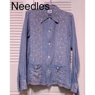 ニードルス(Needles)のNeedles 花柄刺繍シャツ(シャツ)