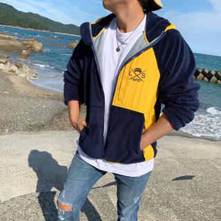 OFF-WHITE - 秋のコーデ☆LUSSO SURF フリースジャケット Lサイズ☆RVCA