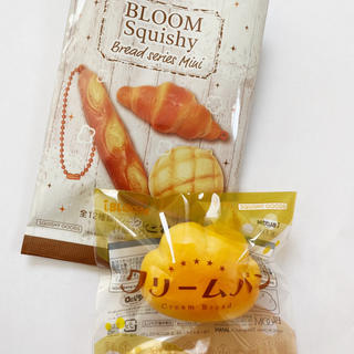 BLOOM - ブルーム スクイーズ クリームパン ノーマル パンシリーズ ミニ BLOOM